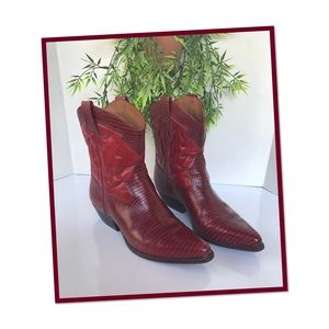 INE WEST COWGIRL BOOTS